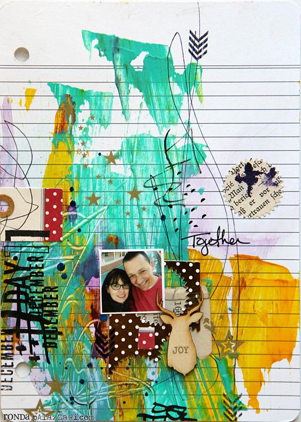 Ronda Palazzari Document Dec Art Journal Day 11
