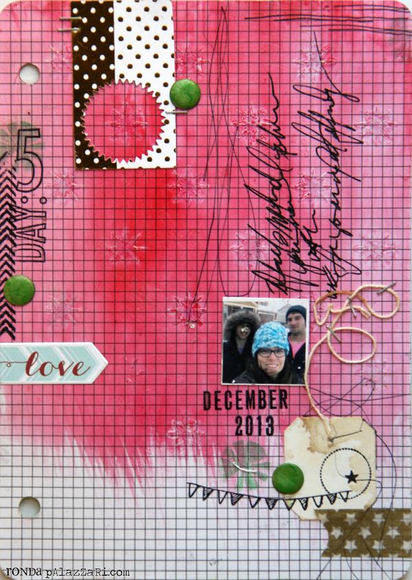 Ronda Palazzari Document Dec Art Journal Day 5