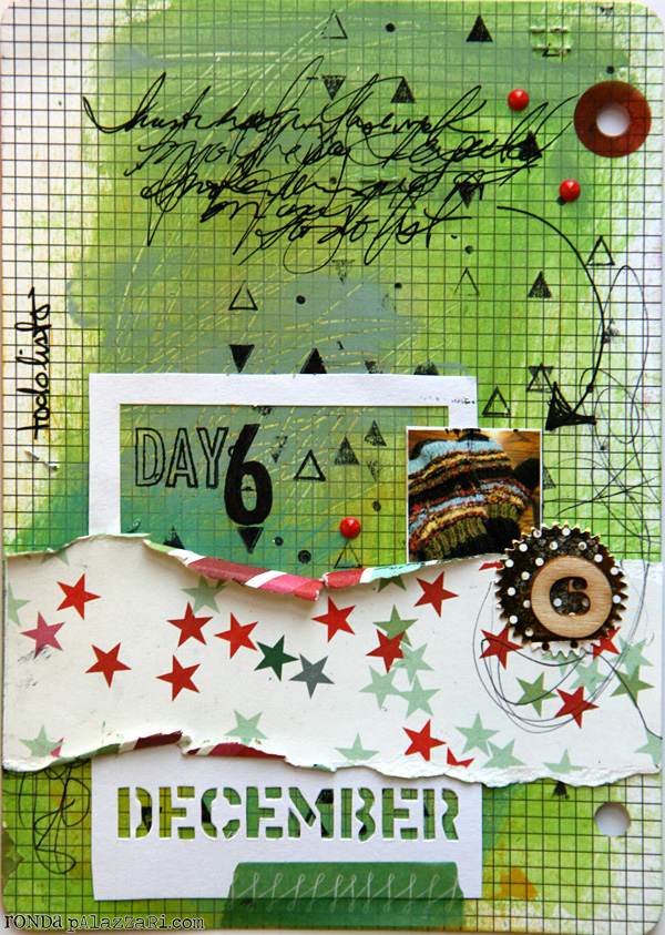 Ronda Palazzari Document Dec Art Journal Day 6