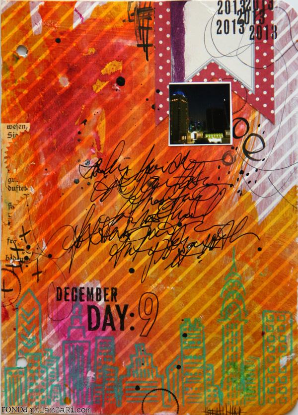 Ronda Palazzari Document Dec Art Journal Day 9