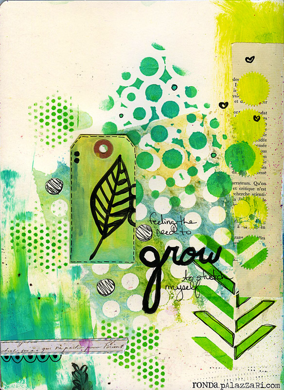 Ronda Palazzari Grow Art Journal