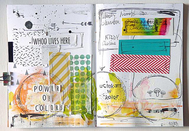 Magda Bolinksa Art Journal 1