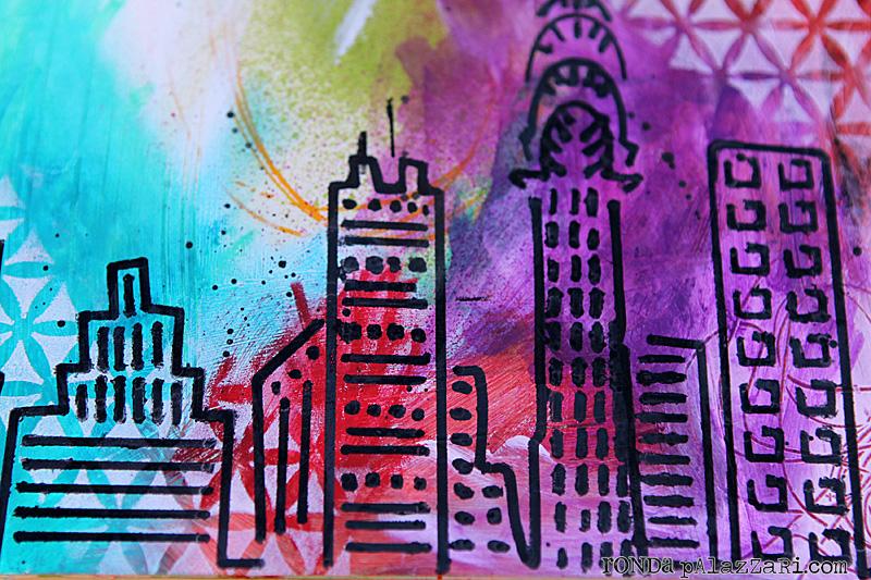Ronda Palazzari City Life Details Art Journal