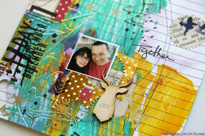 Ronda Palazzari Document Dec Art Journal Day 11 details