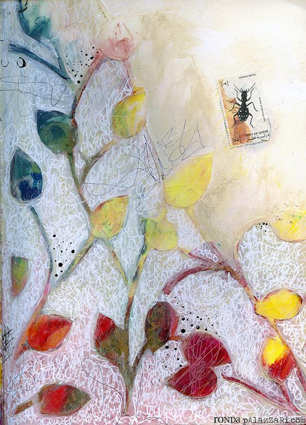 Ronda Palazzari Thoughts Art Journal