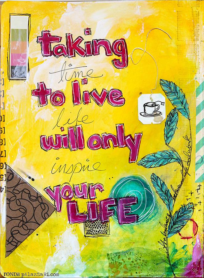 Ronda Palazzari Your Life pg 1