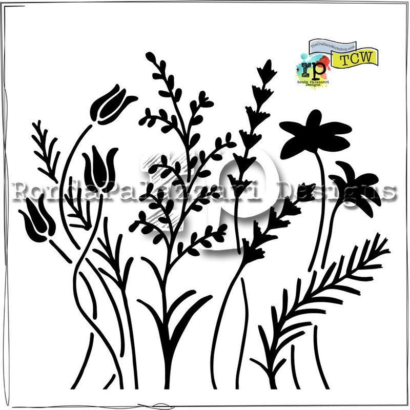 Ronda Palazzari Wildflowers TCW433
