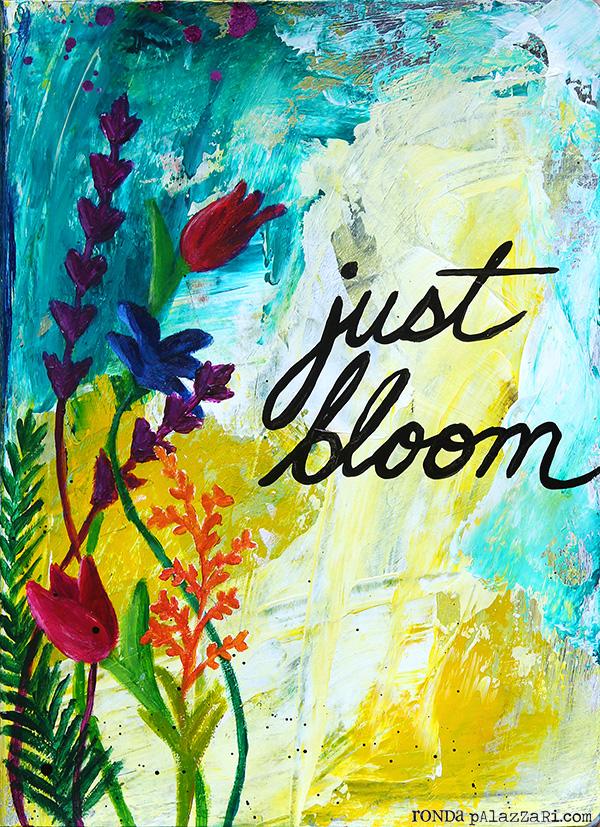 Ronda Palazzari Just Bloom