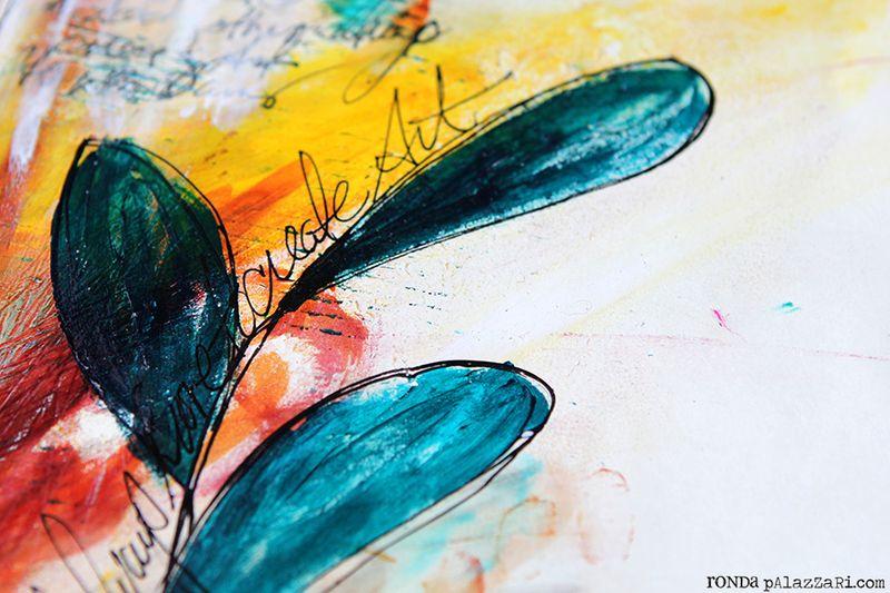 Ronda Palazzari Will Art Journal Details