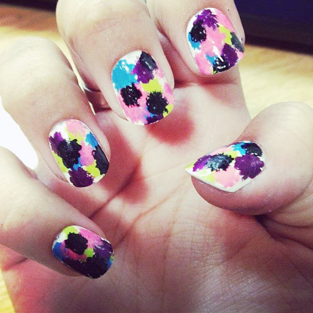 Ronda Palazzari Alexi Nails Abstract
