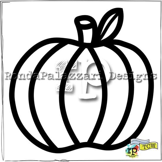 Ronda Palazzari SF Pumpkin TCW2047