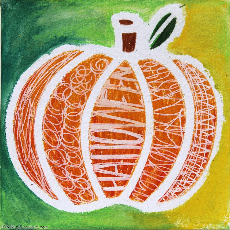 Ronda Palazzari Fragment Pumpkin