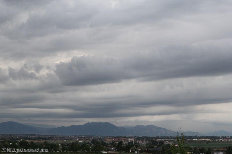 Ronda Palazzari Colorado Skies 1