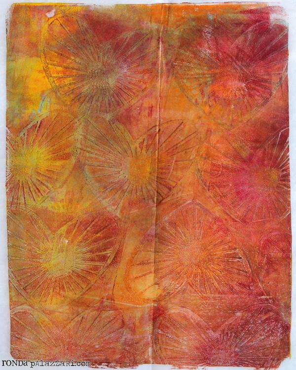 Ronda Palazzari Gelli Prints Deli Paper 1