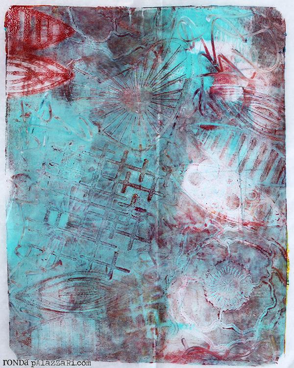 Ronda Palazzari Gelli Prints Deli Paper 3