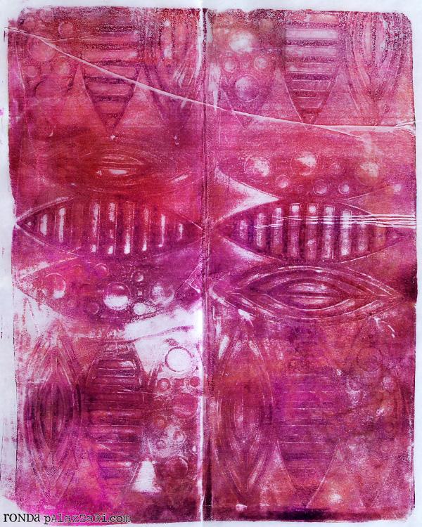 Ronda Palazzari Gelli Prints Deli Paper 4