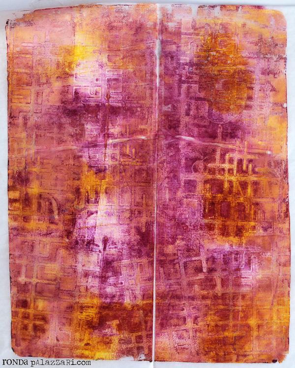 Ronda Palazzari Gelli Prints Deli Paper 5