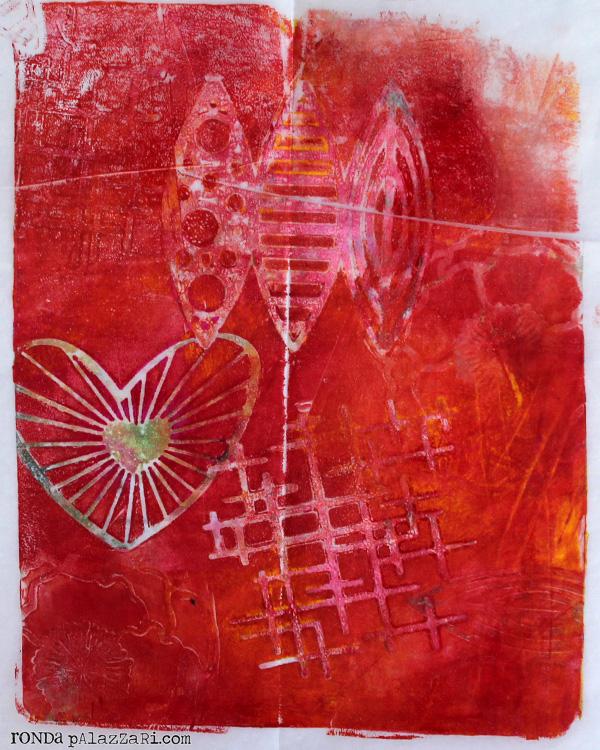 Ronda Palazzari Gelli Prints Deli Paper 8