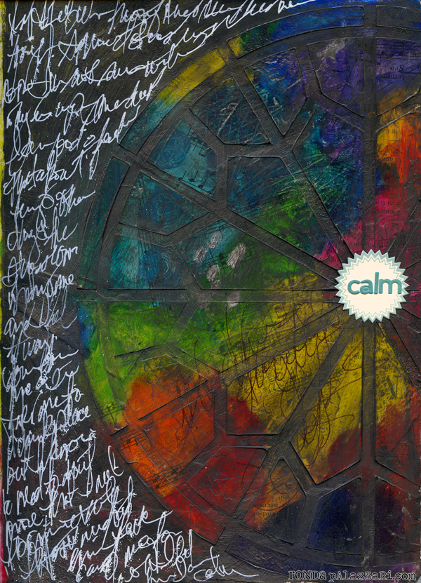 Ronda Palazzari Calm Art Journal