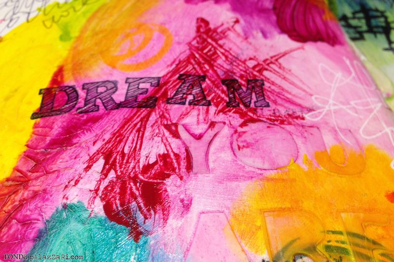 Ronda Palazzari Dream Art Journal details 2