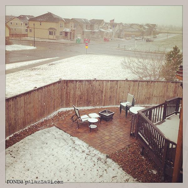 Ronda Palazzari Sunday Snow