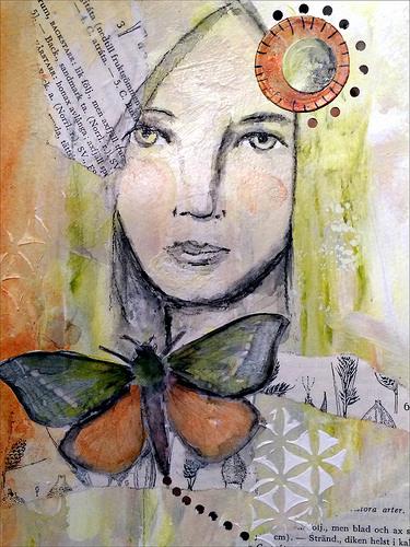 Anna Bjorklund Butterfly Girl