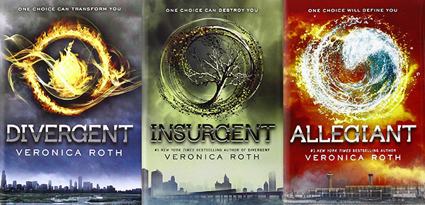 Veronica Roth Divergent Trilogy