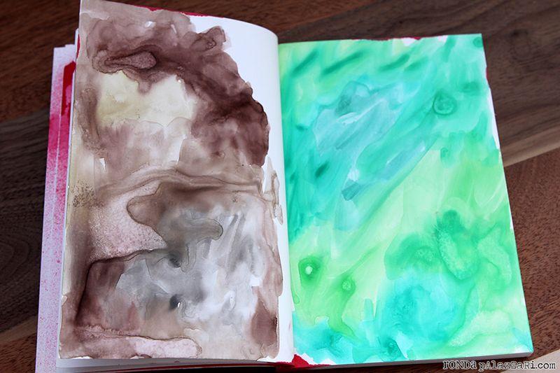 Ronda Palazzari Travel Art Journals 10