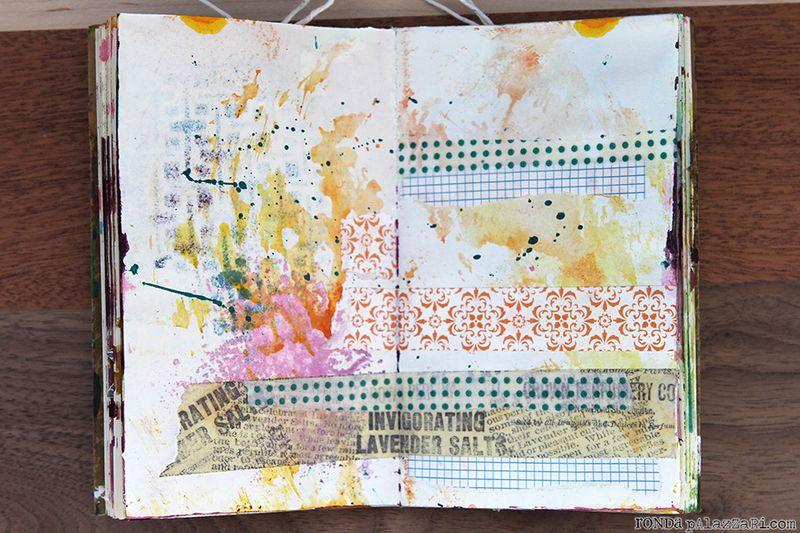 Ronda Palazzari Travel Art Journals 3