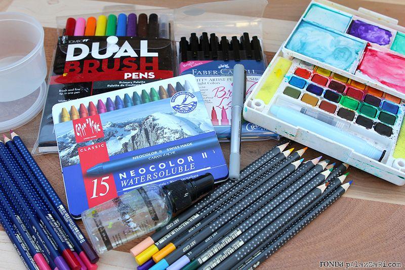 Ronda Palazzari Travel Art Journals 13