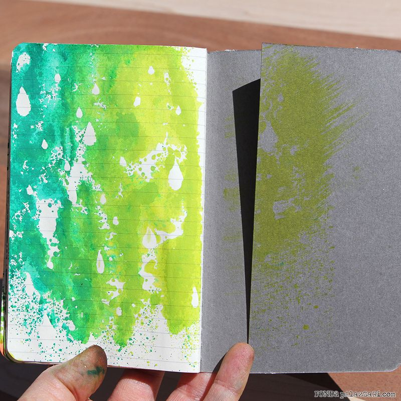 Ronda Palazzari Artsy Travel Mini Album pages 20