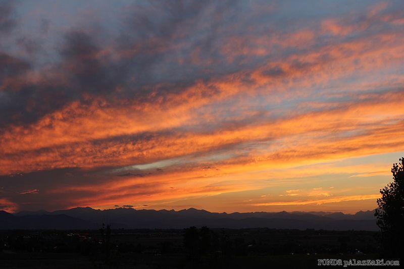 Ronda Palazzari Colorado Sunset Aug