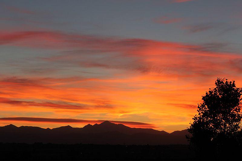 Ronda Palazzari Colorado Sunset