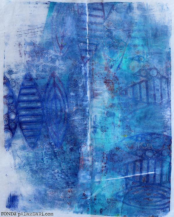 Ronda Palazzari Gelli Prints Deli Paper 2