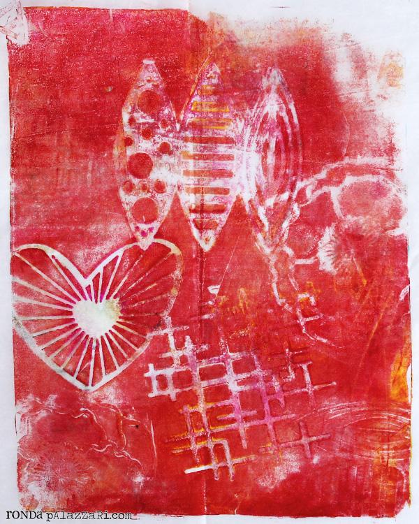 Ronda Palazzari Gelli Prints Deli Paper 6