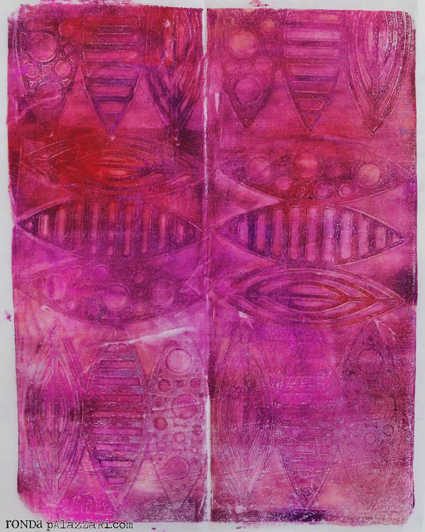 Ronda Palazzari Gelli Prints Deli Paper 9