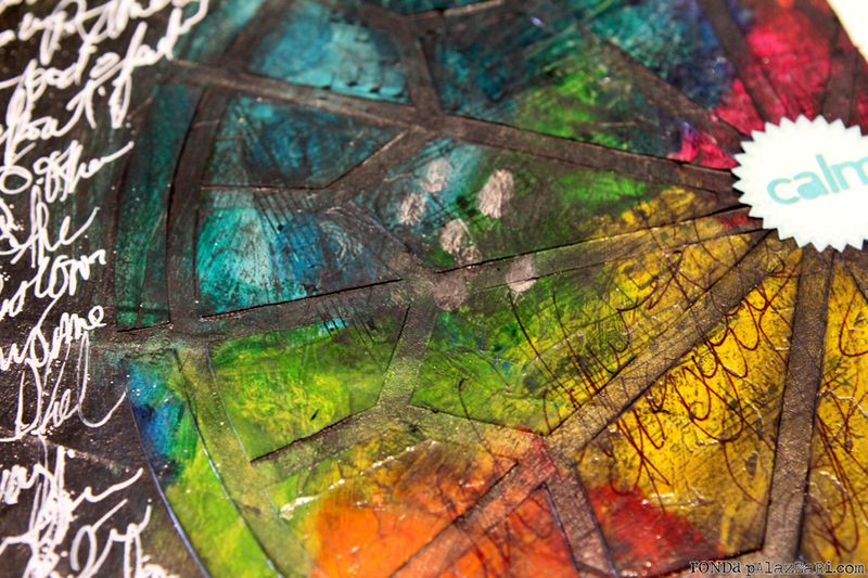 Ronda Palazzari Calm Art Journal Details