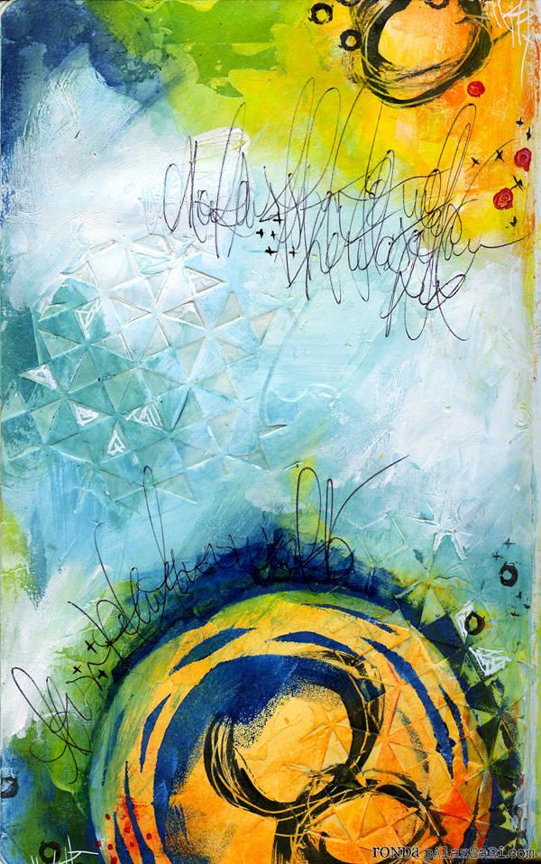Ronda Palazzari Decisions Art Journal