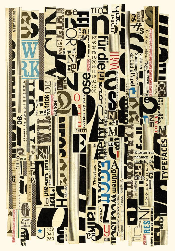 Hugo Werner Typographic Stripes
