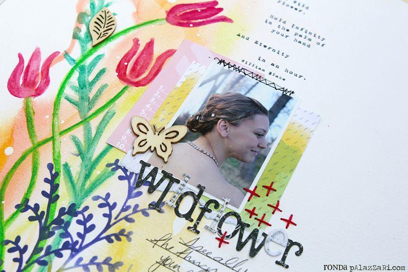 Ronda Palazzari Wildflower details 2