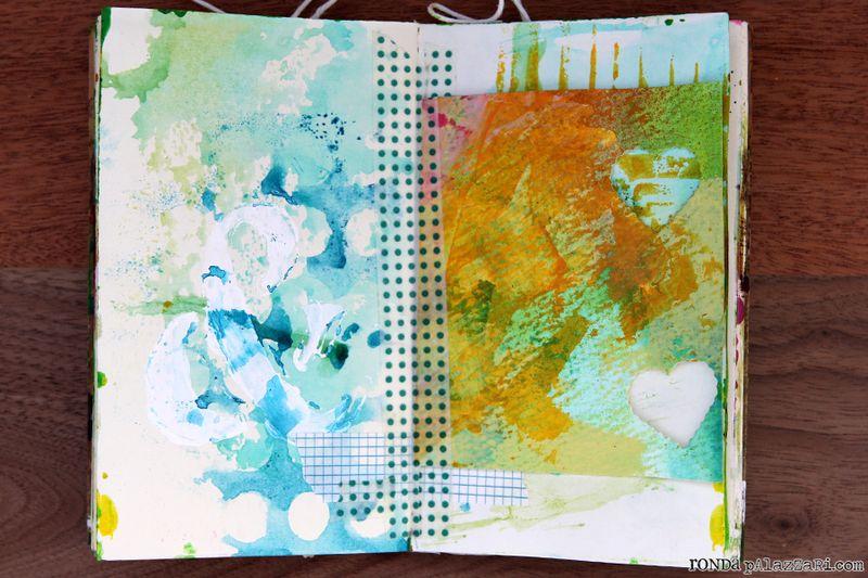 Ronda Palazzari Travel Art Journals 4