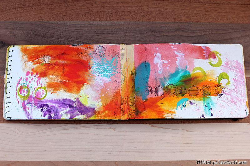 Ronda Palazzari Travel Art Journals 7