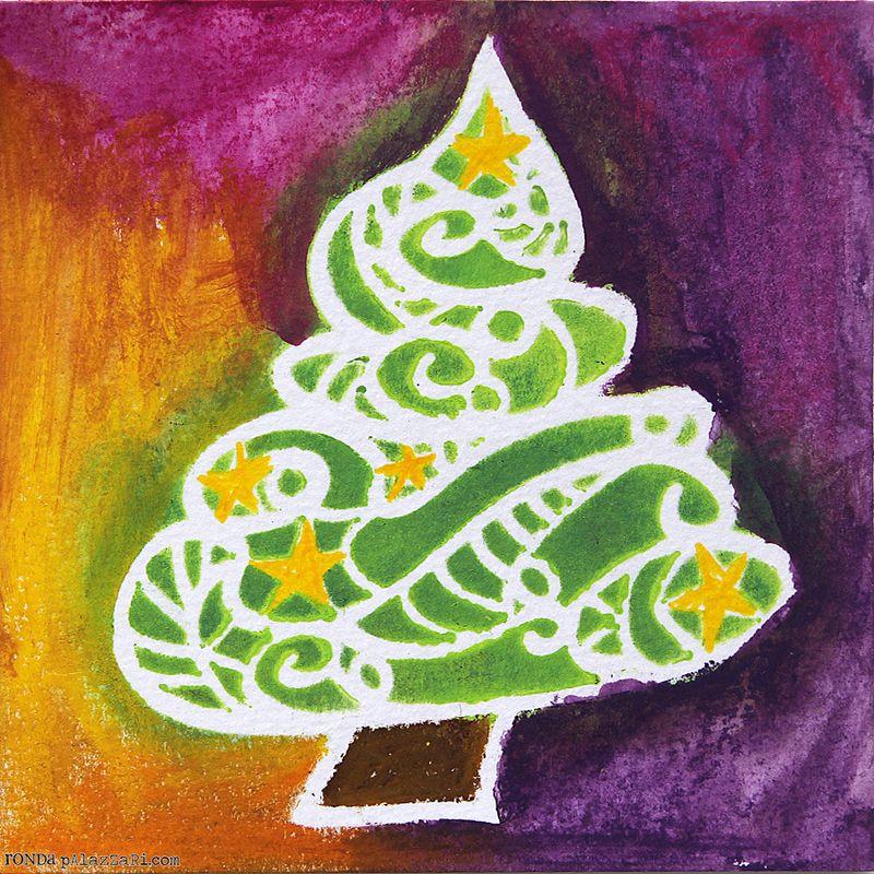 Ronda Palazzari Curly Christmas Tree