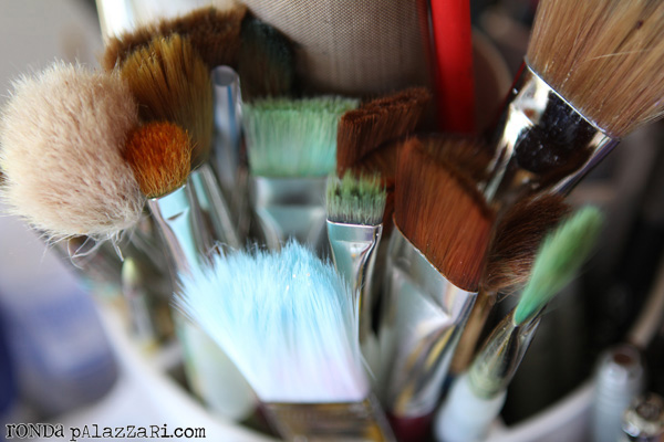 Ronda Palazzari Paint Brushes