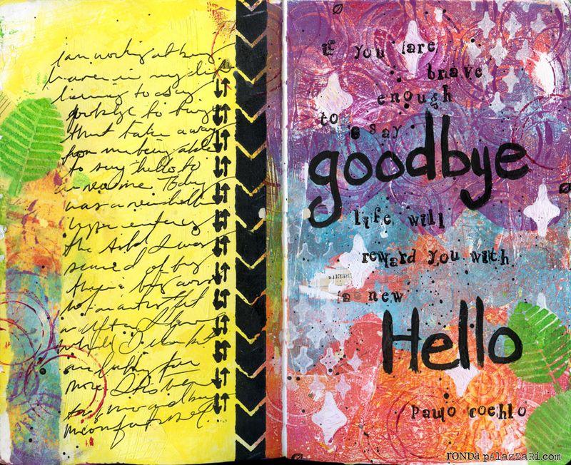 Ronda Palazzari Hello Goodbye