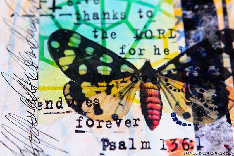 Ronda Palazzari Thankful Art Journal Details