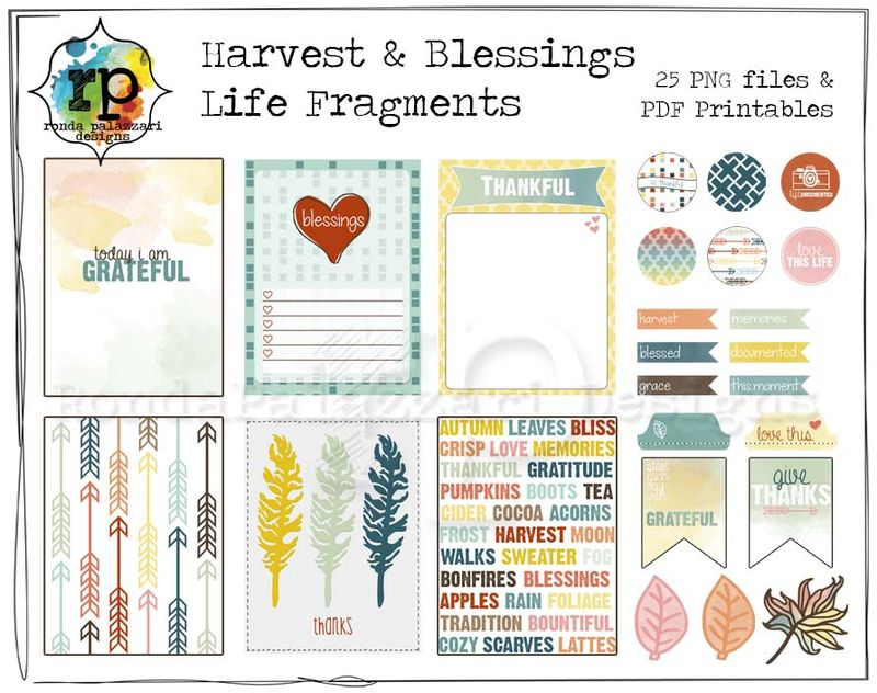 RPD Harvest & Blessings Life Fragments Sample