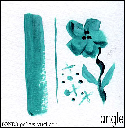 Ronda Palazzari angle Paintbrush