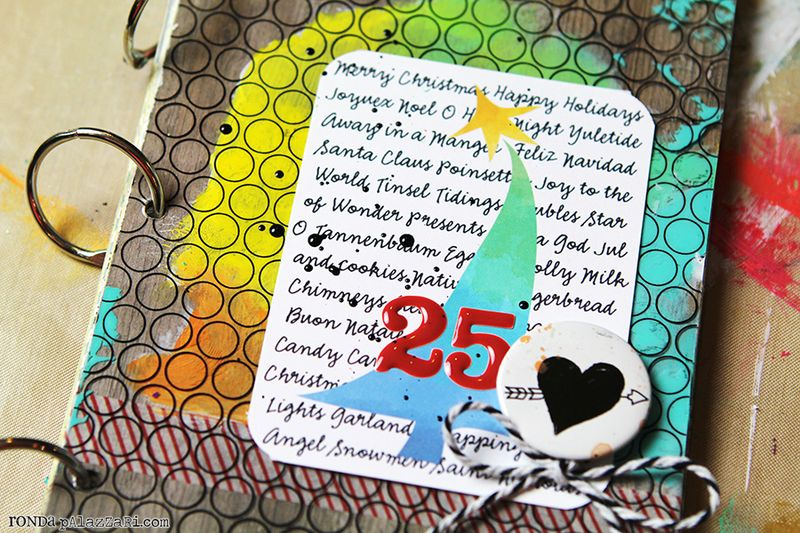 Ronda Palazzari 12 Days Art Journal Album details