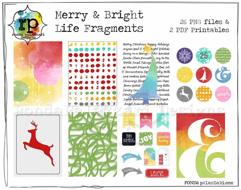 RPD Merry & Bright Life Fragments Sample